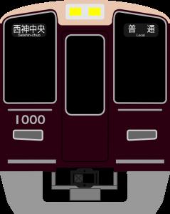阪急SVG画像の制作