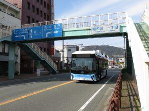 徳島に燃料電池バスがやってきた!