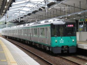 神戸市交通局6000形 試運転
